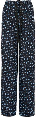 Marni Printed Silk Pyjama Trousers