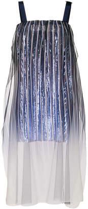 Aviu striped flared top