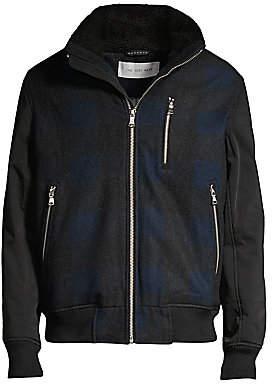 The Very Warm Men's Hyde Sherpa Collar Jacket