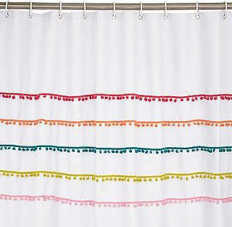 John Lewis & Partners Pom Pom Shower Curtain
