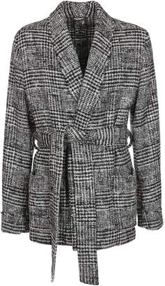 Dolce & Gabbana Houndstooth Cardigan