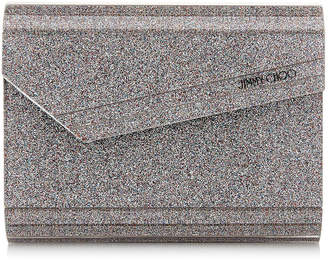 Jimmy Choo CANDY Multi Shaded Fine Glitter Acrylic Clutch Bag