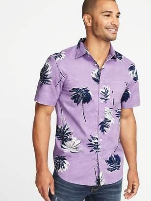 Old Navy Slim-Fit Built-In Flex Getaway Shirt for Men