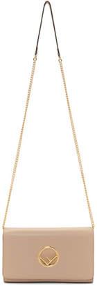 Fendi Pink F is Chain Wallet Bag