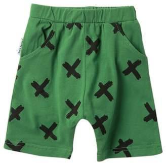 TINY TRIBE X Relaxed Shorts (Baby Boys)