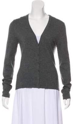 Michael Kors Cashmere Knit Cardigan Grey Cashmere Knit Cardigan