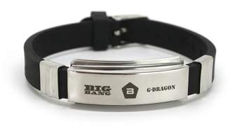Lomo Fanstown Bigbang Kpop Titanium Silicon Wristband with cards anti-rust and water prove