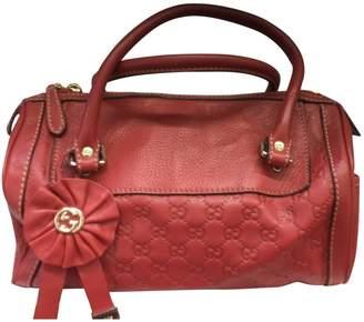 Gucci Boston leather handbag