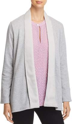 Donna Karan Relaxed Open-Front Cardigan