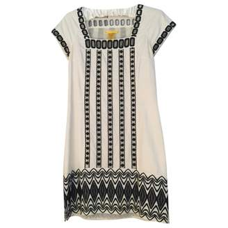 Catherine Malandrino Ecru Cotton Dress for Women
