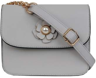 Andrew Marc Crossbody With Flower Details