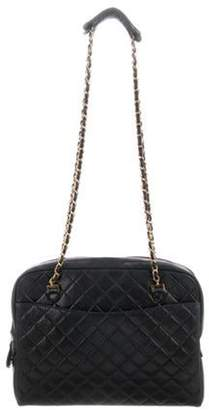 Chanel Quilted Tote Black Quilted Tote