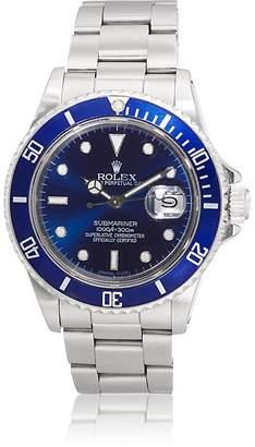 Rolex Vintage Watch Men's 1990 Submariner Oyster Perpetual Date Watch