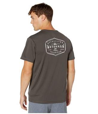 Quiksilver Waterman Gut Check Short Sleeve UPF Surf Tee