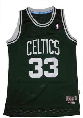 adidas Larry Bird Boston Celtics NBA Throwback Swingman Jersey - Green