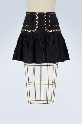 Etoile Isabel Marant Linen Jessie short skirt