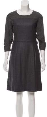 See by Chloe Wool A-Line Dress