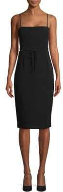 BCBGMAXAZRIA Back Lace Up Evening Dress