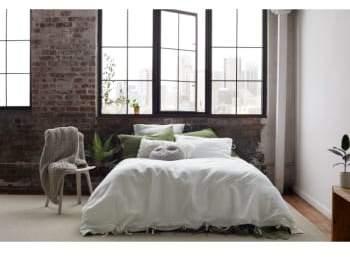 Relaxed Cotton & Linen Duvet Cover