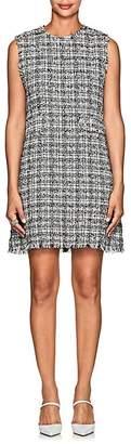 Barneys New York Women's Tweed Sleeveless Dress