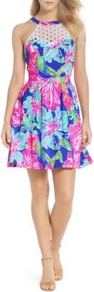 Lilly Pulitzer R) Kinley Halter Dress