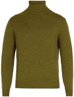 Massimo Alba Roll-neck cashmere sweater