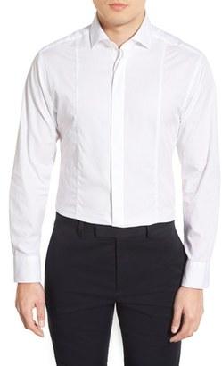 Men's Vince Camuto Trim Fit Tuxedo Shirt $95 thestylecure.com