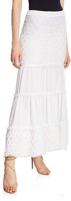 Alexis Geras Tiered Cotton Maxi Skirt