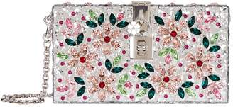 Dolce & Gabbana Perspex Jewelled Box Clutch