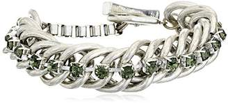 Kenneth Cole New York Social Items Faceted Bead Toggle Link Bracelet