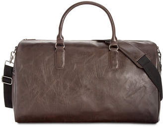 Kenneth Cole Reaction Men's Faux-Leather Duffel Bag