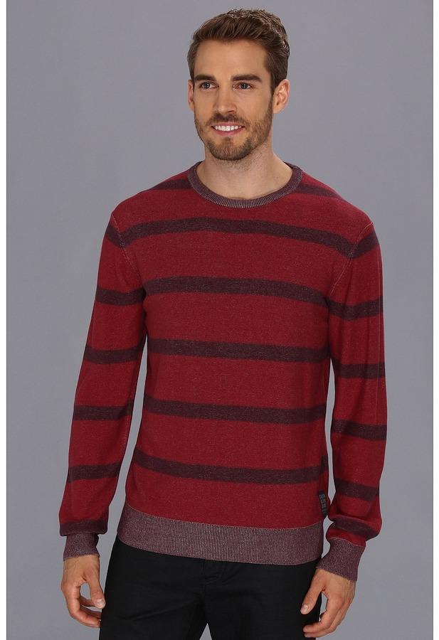 Calvin Klein Jeans Plaited Stripe Sweater
