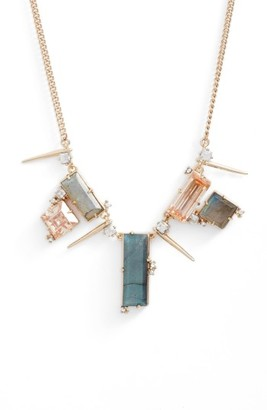 Women's Alexis Bittar Geo Crystal Spike Necklace $245 thestylecure.com