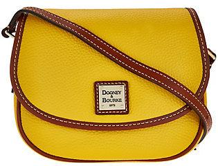 Dooney & Bourke Pebble Leather Hallie Crossbody Bag $128 thestylecure.com