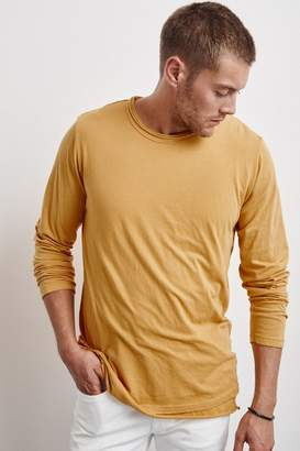 Velvet by Graham & Spencer KENNITH DOUBLE LAYER WHISPER LONG SLEEVE TEE