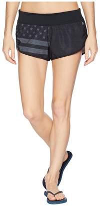 Hurley USA Phantom Cheers Beachrider Boardshorts Women's Swimwear