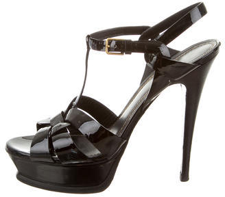 Saint Laurent Yves Saint Laurent Tribute Platform Sandals