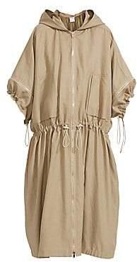 Stella McCartney Women's Caban Washed Cotton Topper