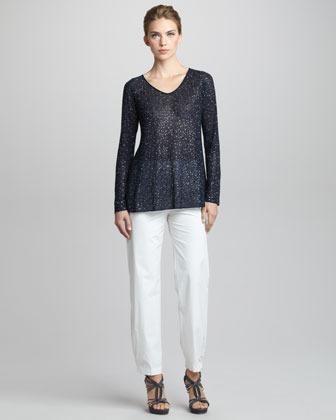 Giorgio Armani Sequined Sweater
