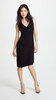 Norma Kamali Sleeveless Drape Dress