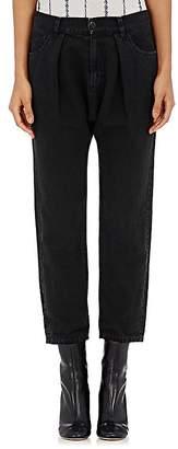 Nili Lotan Women's Pleated Crop Jeans