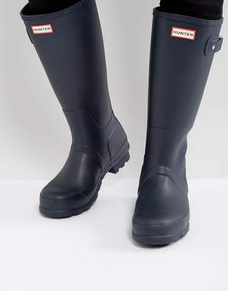 Hunter Tall Wellies In Blue