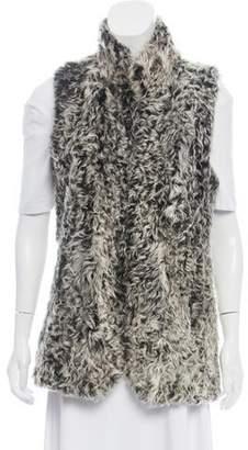 Theory Lamb Fur Vest w/ Tags