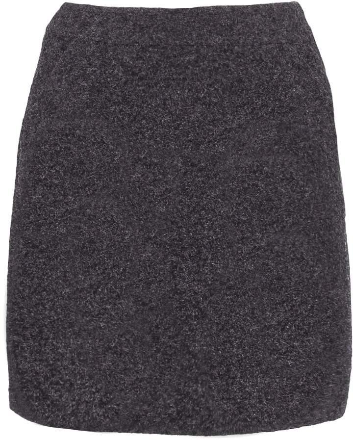 More & More Mini skirt stone melange