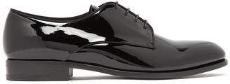 Giorgio Armani Vernice patent-leather derby shoes