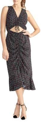 Rachel Roy Paula Ruched Front High-Low Dress