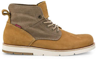 Levi's Jax Light Lace-Up Leather Boots