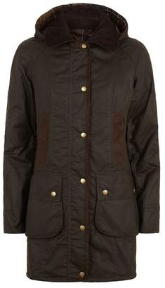 Barbour Bower Wax Hooded Jacket