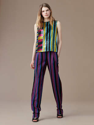 Diane von Furstenberg Full Length Soft Pant