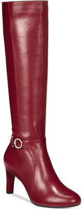 Bandolino Lella Wide-Calf Dress Boots